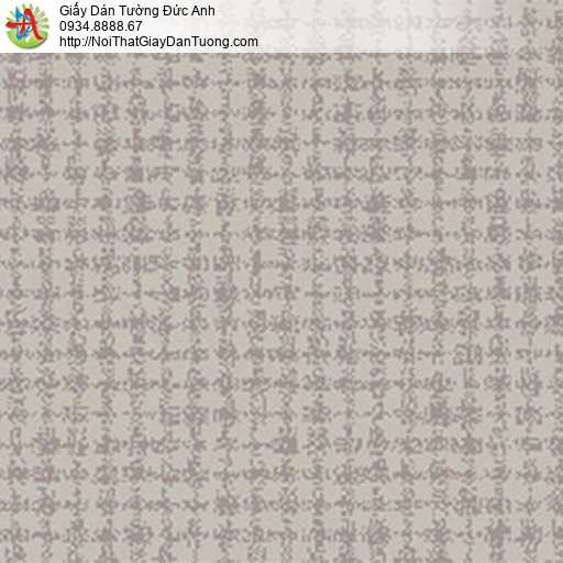 5552-3 Giấy dán tường màu ghi, giấy màu xám hiện đại họa tiết ô vuông
