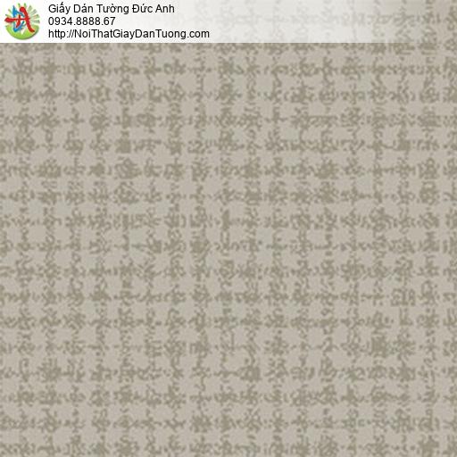 5552-8 Giấy dán tường màu ghi họa tiết hình vuông hiện đại đẹp