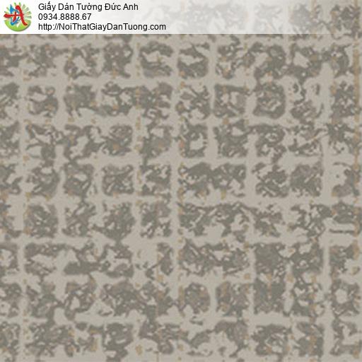 5553-4 Giấy dán tường màu nâu xám, màu nâu nhạt, giấy dán tường Tphcm
