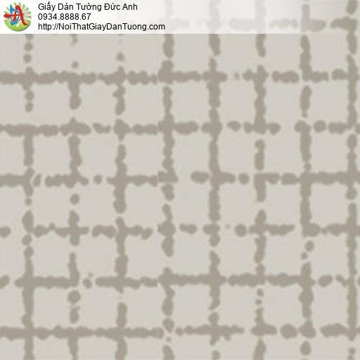 5554-4 Giấy dán tường họa tiết ô vuông màu xám tại Huyện Bình Chánh