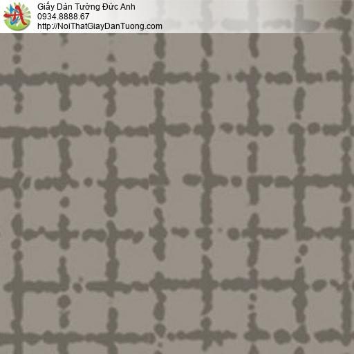 5554-6 Giấy dán tường màu xám, màu nâu, bán giấy dán tường Bình Chánh