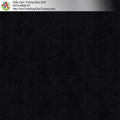 M80004 Giấy dán tường màu đen, giấy gân màu đen tuyền ở quận Bình Tân