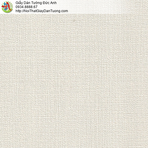 M80011 Giấy dán tường màu trắng nhạt, giấy gân trơn đơn giản hiện đại