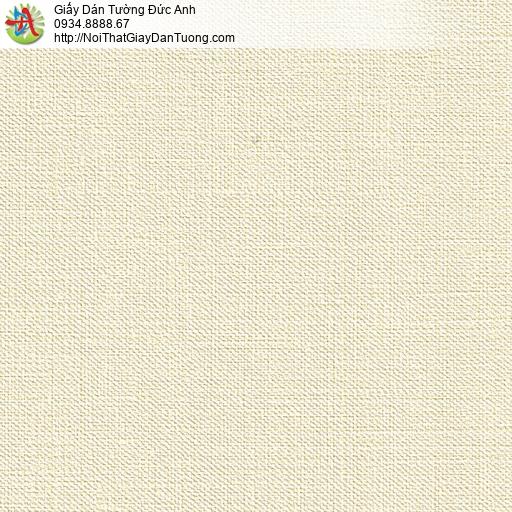 M80012 Giấy dán tường màu vàng kem, giấy gân đẹp nhất 2020 tại Tpchm