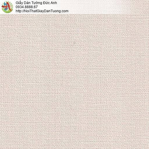 M80019 Giấy dán tường màu hồng nhạt, giấy gân đơn giản hiện đại tại q6