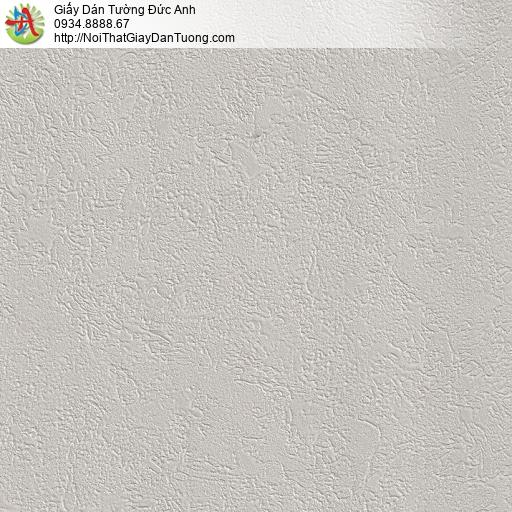 M80025 Giấy dán tường gân lớn màu xám, giấy màu xám tro,giấy điểm nhấn