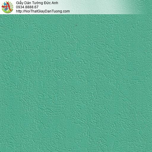 M80027 Giấy dán tường màu xanh lá cây, màu xanh cốm, màu xanh tươi đậm