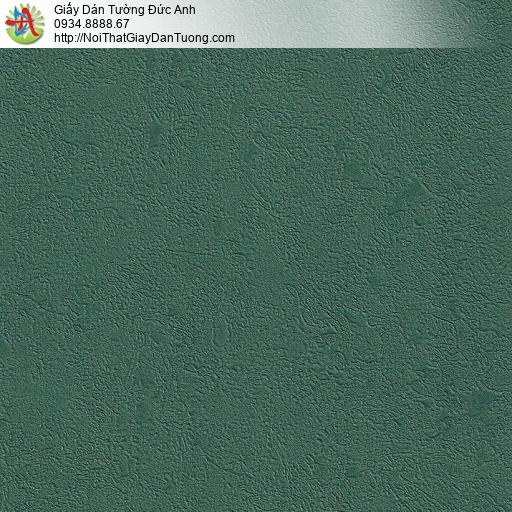 M80029 Giấy dán tường màu xanh ngọc, màu xanh cốm đậm, giấy điểm nhấn