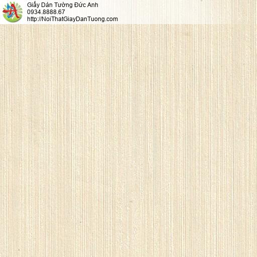 M80032 Giấy dán tường sọc nhỏ màu vàng kem, kẻ sọc màu vàng nhạt