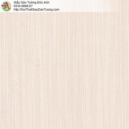 M80033 Giấy dán tường sọc nhỏ nhuyễn, giấy màu kem nhạt tại Bình Tân