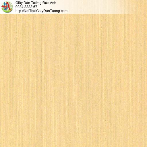 M80034 Giấy dán tường kẻ sọc nhuyễn màu vàng, giấy màu vàng tại Tphcm