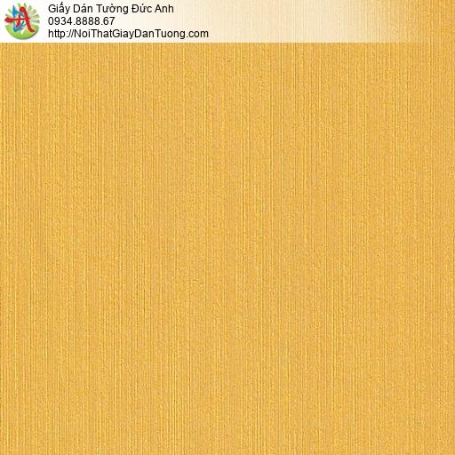 M80036 Giấy dán tường màu vàng đồng, giấy kẻ sọc nhỏ nhuyễn tại Quận 6