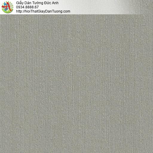M80037 Giấy dán tường sọc nhỏ nhuyễn màu xám xanh mới nhất 2020 Tphcm
