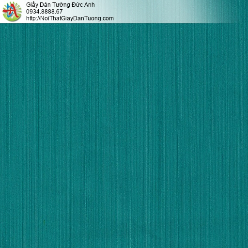 M80039 Giấy dán tường màu xanh lý, xanh két, xanh ngọc màu xanh đậm