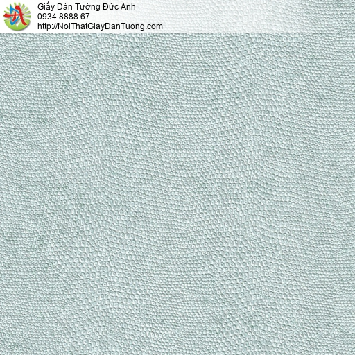 M80045 Giấy dán tường màu xanh nhạt, giấy gân lỗ màu xanh xám