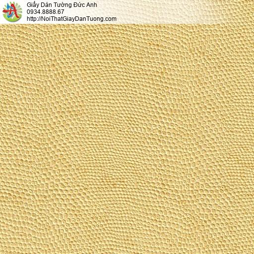 M80046 Giấy dán tường gân lỗ màu vàng tươi, màu vàng đồng tại Tphcm