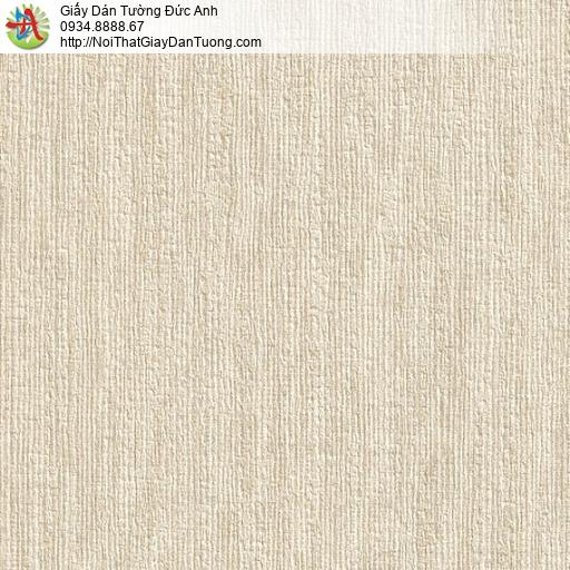 M80055 Giấy dán tường màu vàng đất, giấy dạng gân mới hiện đại 2020