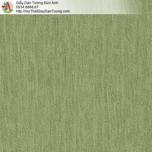 M80067 Giấy dán tường gân màu xanh lá cây, màu xanh cốm, màu xanh ngọc