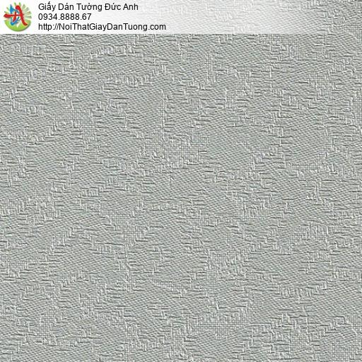 M80072 Giấy dán tường hoa văn chìm màu xám, dán điểm nhấn đầu giường
