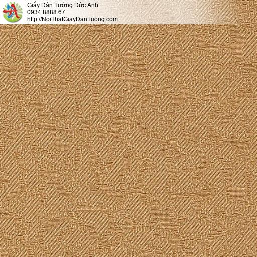 M80077 Giấy dán tường màu vàng đồng, giấy vàng đồng đẹp 2020