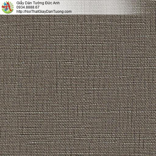 M80085 Giấy dan tường gân màu nâu, bán tranh dán tường quận Bình Tân
