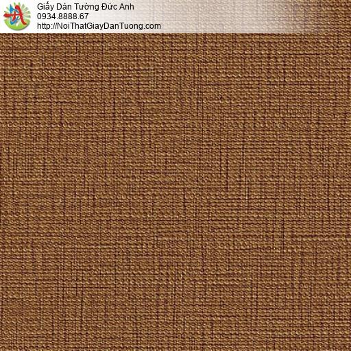 M80087 Giấy dán tường màu cam, giấy gân màu vàng đậm cho điểm nhấn đẹp