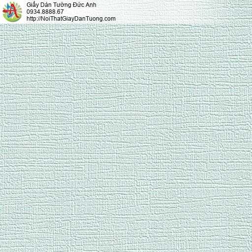 M80094 Giấy dán tường gân to màu xanh nhạt, bán giấy dán tường quận 6
