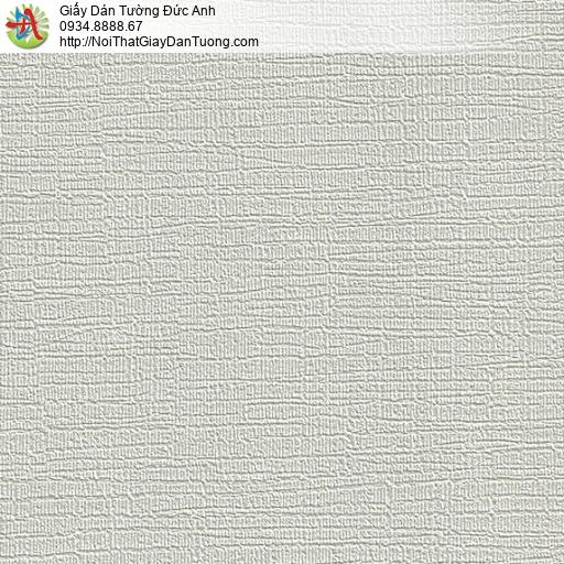 M80095 Giấy dán tường gân lớn màu xám nhạt, cho thuê thợ dán tường HCM
