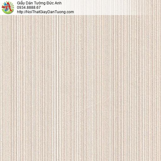 M80104 Giấy dán tường sọc nhỏ, giấy dán tường màu hồng nhạt tại quận 6
