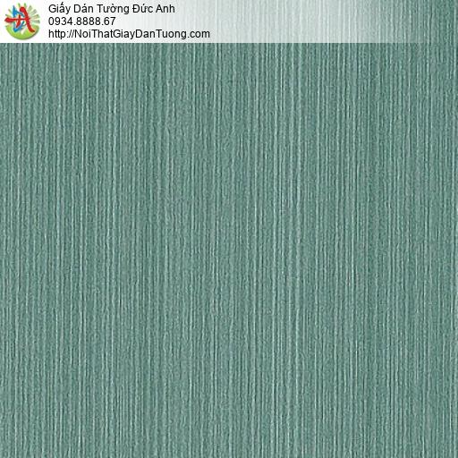 M80105 Giấy dán tường sọc nhỏ, giấy dán tường màu xanh ngọc, xanh rêu