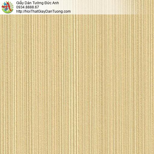 M80106 giấy dán tường kẻ sọc nhỏ, giấy dán tường màu vàng, vàng tươi