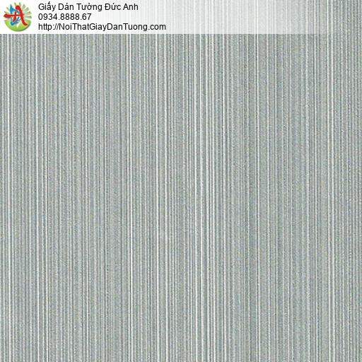 M80107 Giấy dán tường dạng sọc nhỏ màu xám xanh, bán giấy dán tường