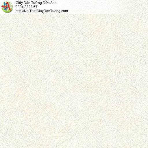 M80121 Giấy dán tường vân xước màu kem, giấy màu vàng kem nhạt