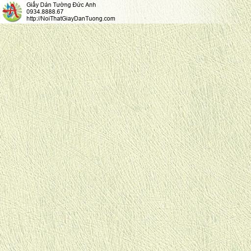 M80127 Giấy dán tường màu vàng chanh nhạt, giấy dạng gân xước