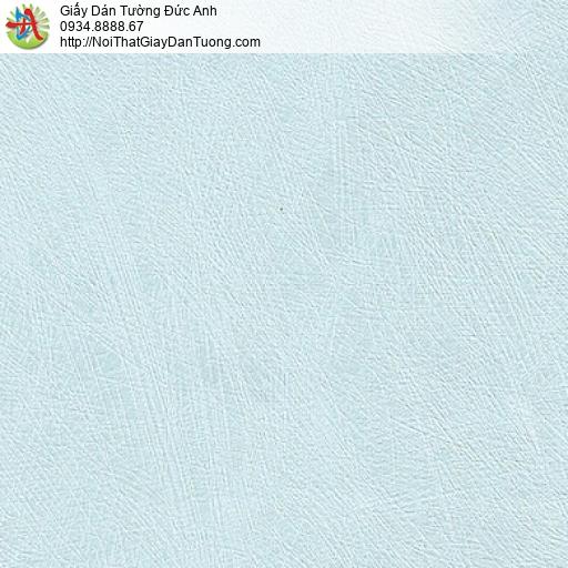M80128 Giấy dán tường màu xanh lơ, màu xanh nhạt gân xước hiện đại
