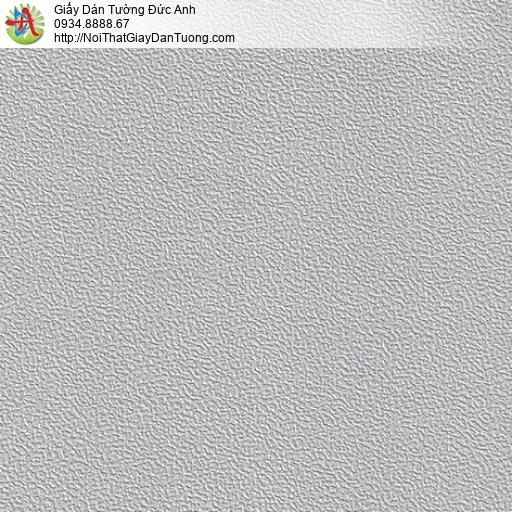 M80133 Giây dán tường màu xám, giấy gân trơn xám mới nhất, hiện đại