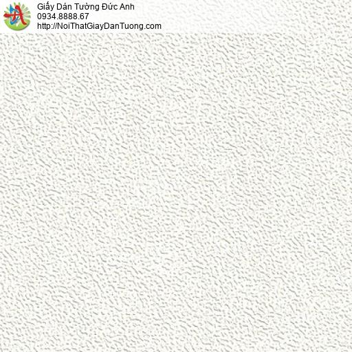 M80137 Giấy dán tường màu trắng, giấy gân trơn đơn giản màu trắng đẹp
