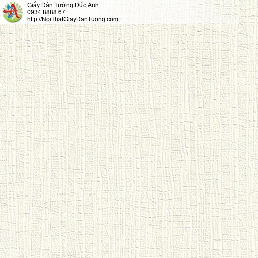M80141 Giấy dán tường gân lớn, giấy dán tường màu kem, bán tại quận 6