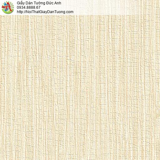 M80145 Giấy dán tường màu vàng kem, giấy gân màu vàng nhạt hiện đại