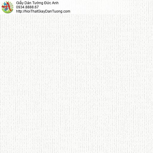 3807-1 Giấy dán tường dạng gân màu trắng, giấy dán tường hiện đại