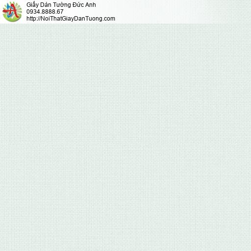 3810-1 Giấy dán tường trơn màu xanh nhạt, giấy sản xuất tại Việt Nam