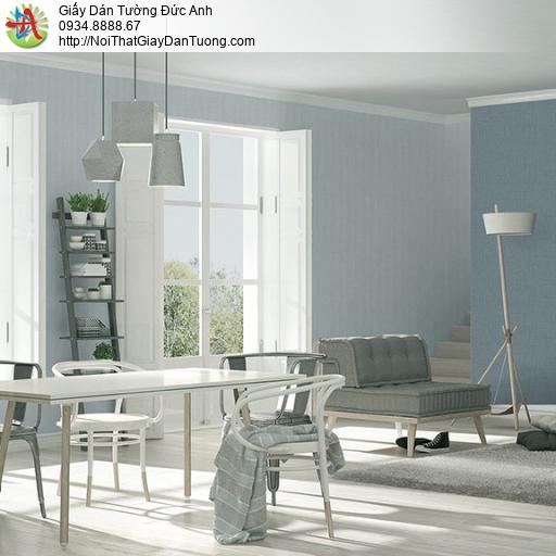 3810-3 + 3810-5 Giấy dán tường dạng trơn màu xanh nhạt hiện đại