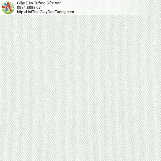 3811-1 Giấy dán tường dạng gân màu xanh nhạt, giấy dán tường Việt Nam
