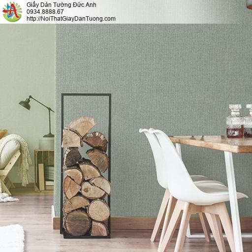 3812-2 + 3812-3 Giấy dán tường gân màu xanh lá cây nhạt, giấy hiện đại