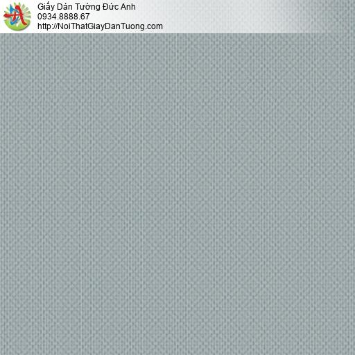 3813-̣9 Giấy dán tường ca rô nhỏ màu xám xanh, màu xám đậm hiện đại