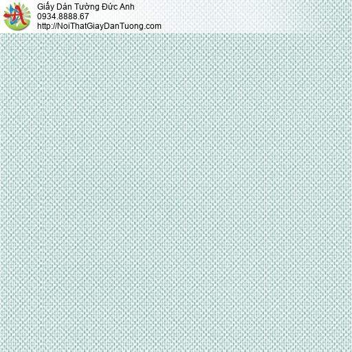 3813-3 Giấy dán tường kẻ xéo ca rô màu xanh, giấy ca rô đẹp hiện đại