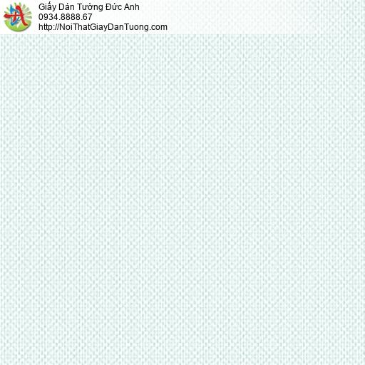 3813-7 Giấy dán tường kẻ xéo màu xanh nhạt, giây dán tường vân ca rô