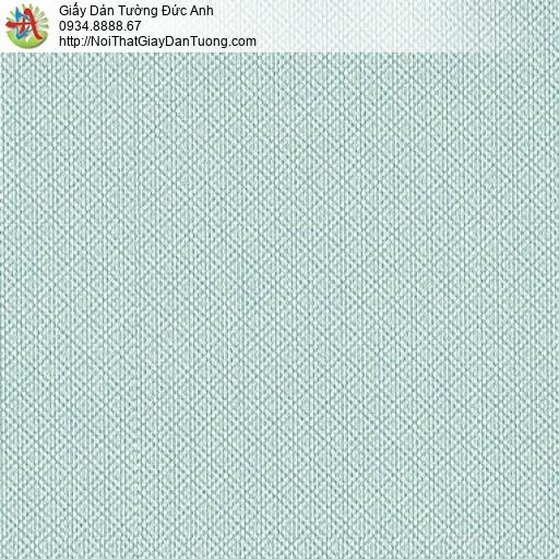 3813-8 Giấy dán tường dạng ca rô nhỏ màu xanh, giấy dán tường Quận 6