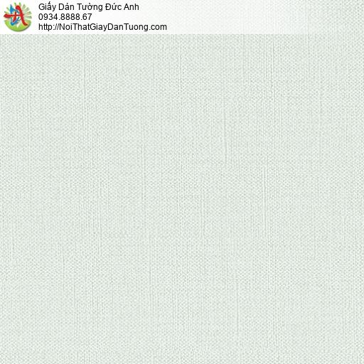 3814-2 Giấy dán tường dạng trơn màu xanh nhạt, giấy dán tường Bình Tân