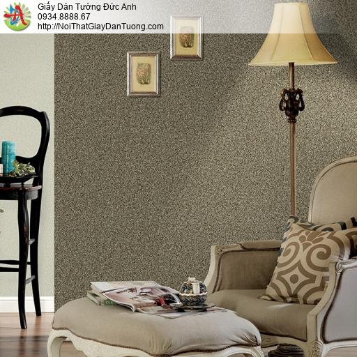 3815-3 Giấy dán tường dạng cát màu vàng đồng, bức tường cát màu vàng
